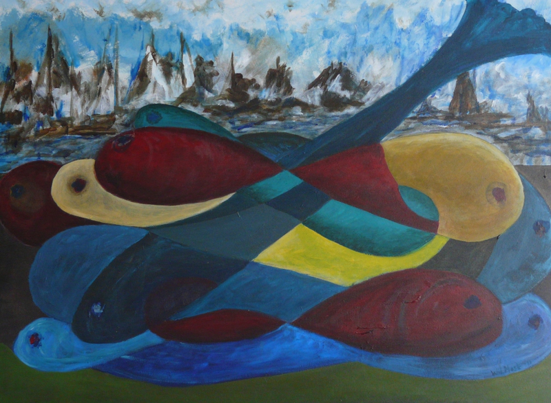 Vissen en boten