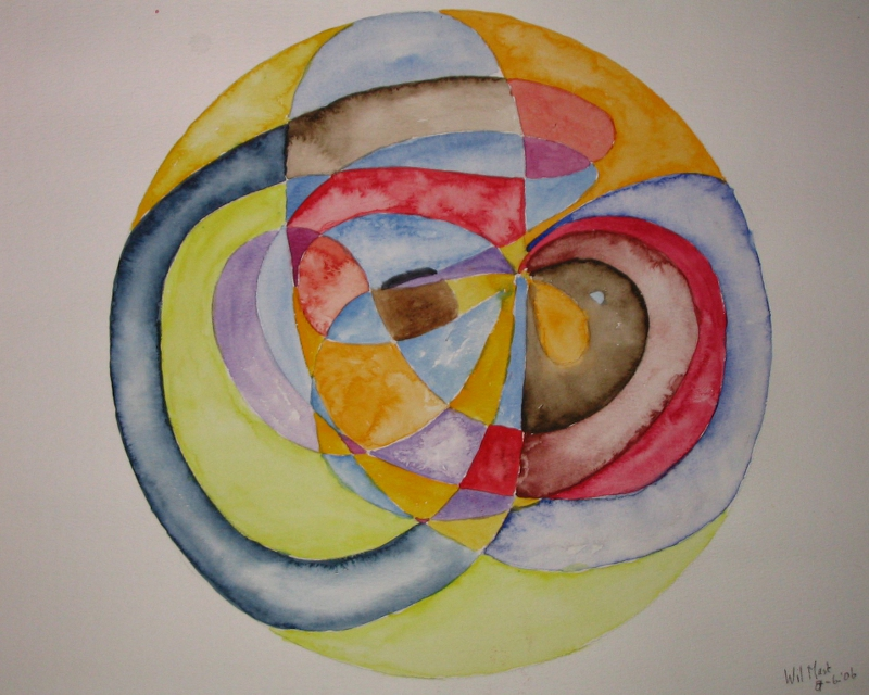 Mandala uit evenwicht