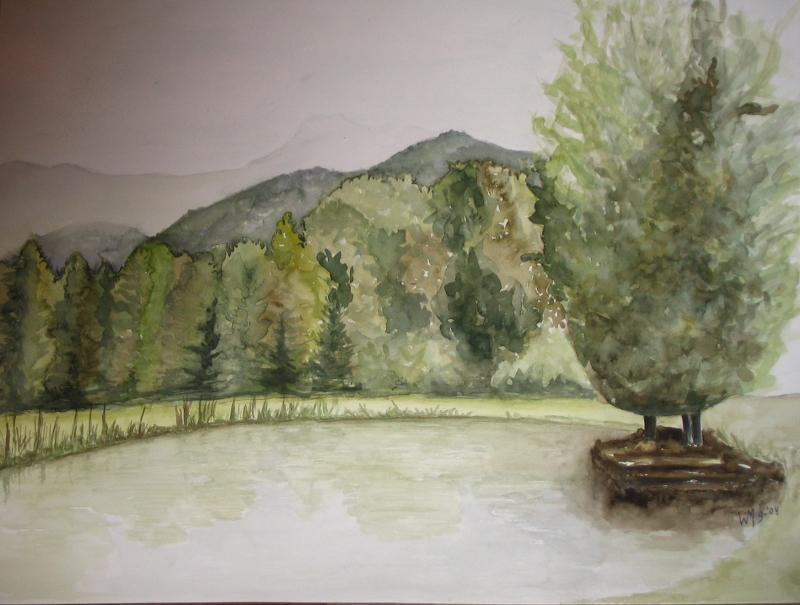 Lac de Villarambert